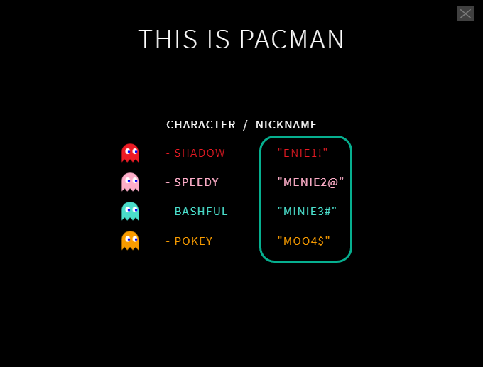 This is PacMan - myCred PacMan